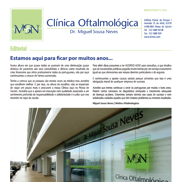Newsletter nº 9